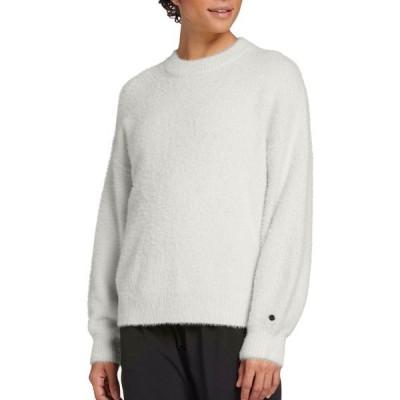 カリア シャツ トップス レディース CALIA by Carrie Underwood Women's Journey Eyelash Pullover Sweater Pristine