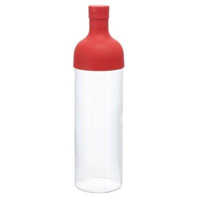 ハリオ フィルターボトル 750ml レッド FIB-75-R 1900円税込