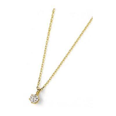 K18 18金 イエローゴールド ダイヤモンド 0.1CT ネックレス DS20095YG