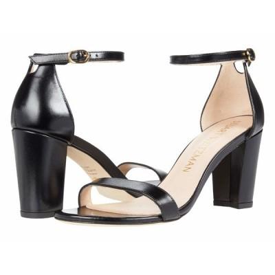 スチュアート ワイツマン ヒール シューズ レディース Nearlynude Ankle Strap City Sandal Black 1
