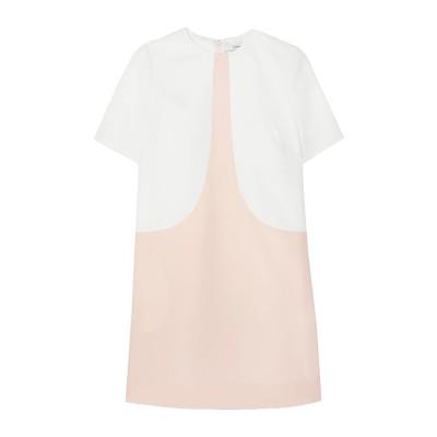 ジバンシィ GIVENCHY ミニワンピース&ドレス ピンク 42 ウール 100% ミニワンピース&ドレス