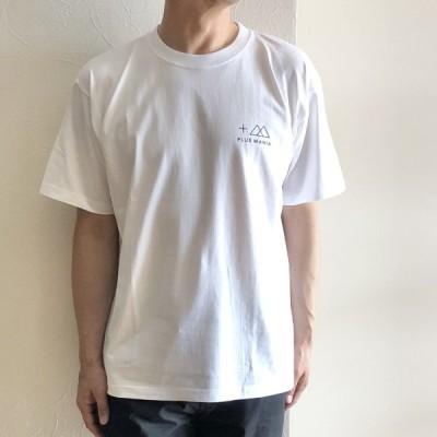 PULS MANIA プラスマニア プラスマニア スタンダードロゴTシャツ ホワイト