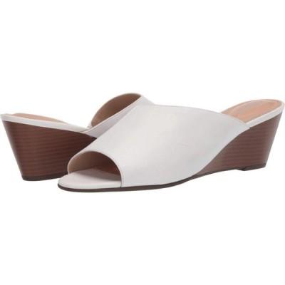 ロックポート Rockport レディース サンダル・ミュール シューズ・靴 Total Motion Taylor Asym Slide White