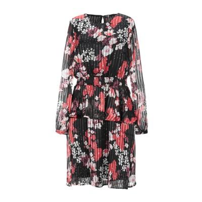 VERO MODA ミニワンピース&ドレス ブラック XS ポリエステル 100% ミニワンピース&ドレス