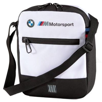 BMW M LS ポータブル ショルダーバッグ 3.5L ホワイト 白
