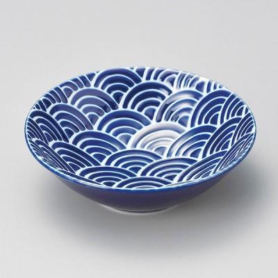 和食器 小さな 瑠璃なみ 小鉢 14.2×4.7cm ボウル うつわ 陶器 カフェ おしゃれ おうち