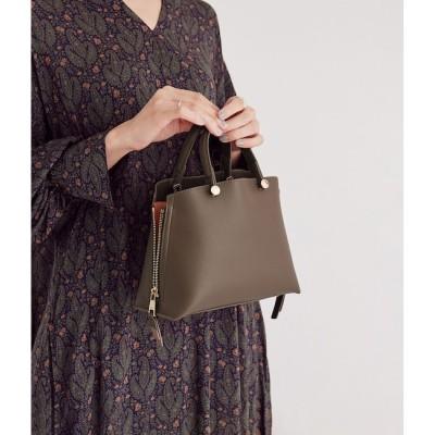 【ロペ マドモアゼル/ROPE mademoiselle】 【新色追加】サイドジップミニショルダーバッグ