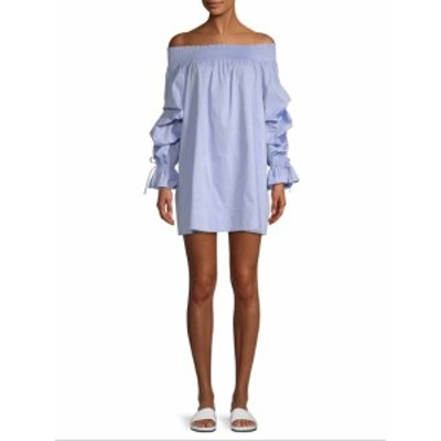 レベッカミンコフ レディース ワンピース Off-The-Shoulder Gathered Dress