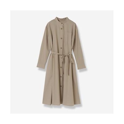<R-ISM(Women) /リズム> バックボタンシャツドレス ベージュ【三越伊勢丹/公式】