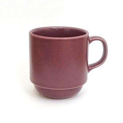 マグカップ スタックカップ バルサミック パープル おしゃれ 洋食器 業務用 日本製 k12788050
