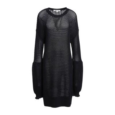 マックキュー アレキサンダー・マックイーン McQ Alexander McQueen ミニワンピース&ドレス ブラック S ウール 100% ミニ