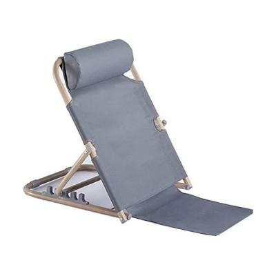 QD-BYM 座椅子 こたつ座椅子 ビーチチェア 折り畳み 5段階 リクライニング (シルバーグレー)