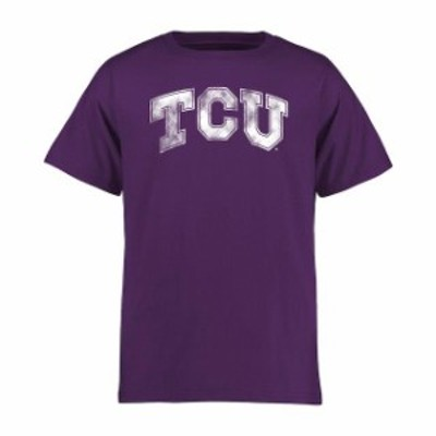 Fanatics Branded ファナティクス ブランド スポーツ用品  TCU Horned Frogs Youth Purple Classic Primary T-Shirt