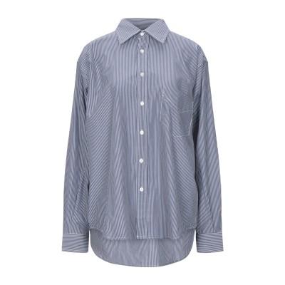 LUPE シャツ スチールグレー II コットン 100% シャツ