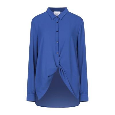 ANNARITA N TWENTY 4H シャツ ブルー 42 ポリエステル 98% / ポリウレタン 2% シャツ