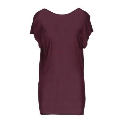 LANVIN Tシャツ  レディースファッション  トップス  Tシャツ、カットソー  半袖 ディープパープル