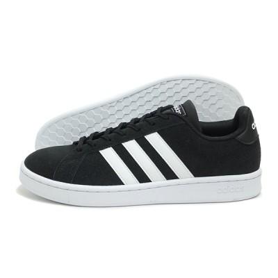 adidas(アディダス)GRANDCOURT SUE M(グランドコート スエード メンズ)(F36414/ブラック)スニーカー 靴 メンズ 運動靴 ローカット