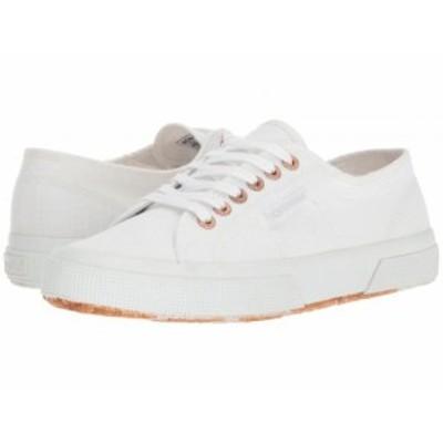 Superga スペルガ レディース 女性用 シューズ 靴 スニーカー 運動靴 2750 COTU Classic White/Rose【送料無料】