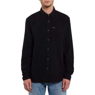 ボルコム Volcom メンズ シャツ トップス Caden Solid Shirt Black