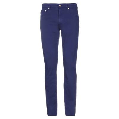 ラブ モスキーノ LOVE MOSCHINO パンツ ブルー 36 コットン 95% / ポリウレタン 5% パンツ