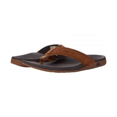Reef リーフ メンズ 男性用 シューズ 靴 サンダル Leather Ortho-Spring - Brown