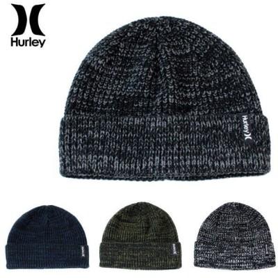 クリポス(日本郵便)送料無料  ハーレー ニットキャップ HURLEY (ハーレー) メンズ ニットキャップ ニット帽 ビーニー ニット キャップ 全4色 VMHAMXCF