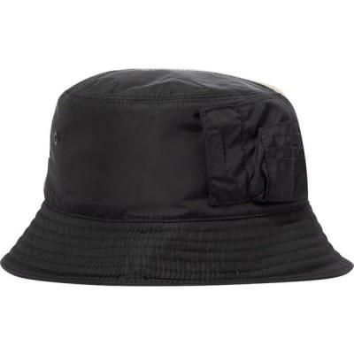 バーバリー Burberry レディース ハット バケットハット 帽子 cotton-blend bucket hat Soft Fawn