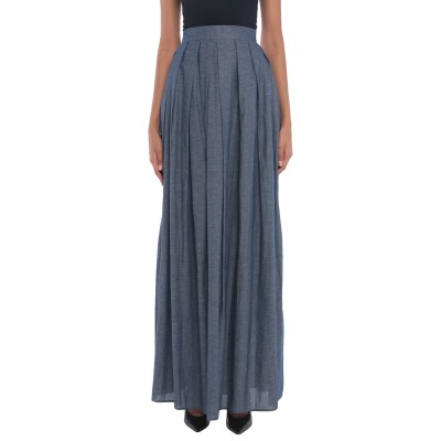 ULTRA'CHIC デニムスカート ブルー 44 コットン 98% / ポリウレタン 2% デニムスカート