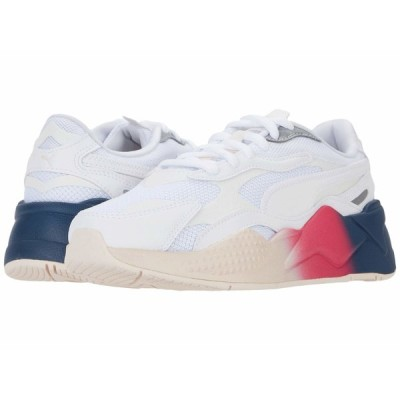 プーマ スニーカー シューズ レディース Rs-X Leather Fade Puma White/Puma White/Rosewater