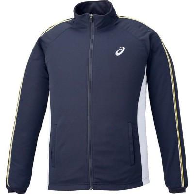 アシックス トレーニングジャケット ネイビー asics XAT188 50