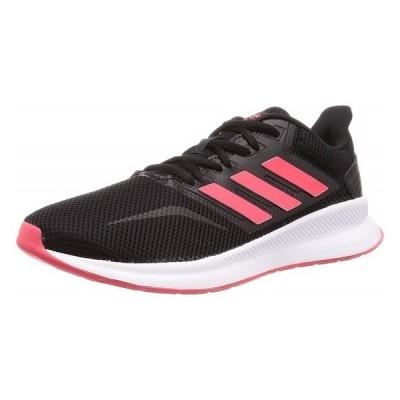 adidas [アディダス][レディ—ス] FALCONRUN W  ファルコンラン W  F36270  コアブラック/ショックレッド