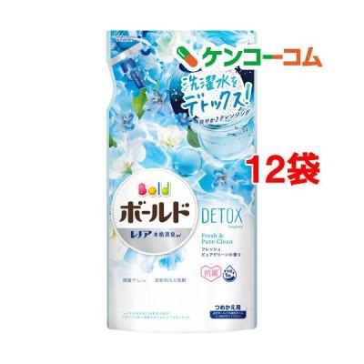 ボールドジェル フレッシュピュアクリーンの香り つめかえ用 ( 600g*12袋セット )/ ボールド