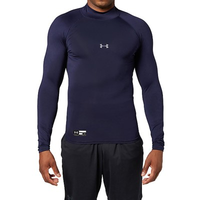 UNDER ARMOUR (アンダーアーマー) 20S UA HG ARMOUR COMP LS MOCK S NVY メンズ 1343021 410