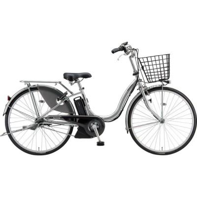 送料無料 ブリヂストン 電動アシスト自転車 アシスタU STD A4SC11 M.XRシルバー
