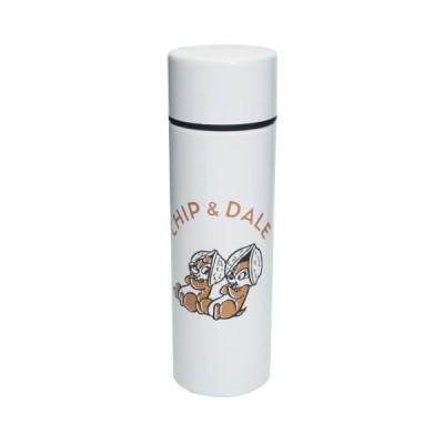 チップ&デール グッズ ミニ 保温 保冷 水筒 ポケットステンレスボトル ホワイト D-CD05 ディズニー キャラクター