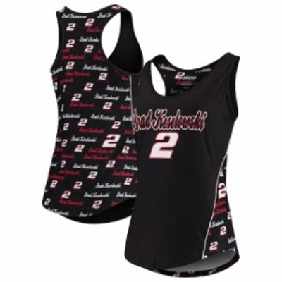 Concepts Sport コンセプト スポーツ スポーツ用品  Concepts Sport Brad Keselowski Womens Black Recover Tank Top