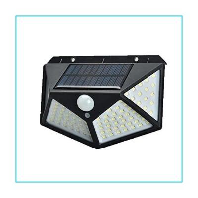 BaiHogi Solar Lights Outdoor 100LED, Wireless Solar Motion Sensor Lights with 270 Degrees Sensor Angle, IP44 Waterproof Solar Security Light