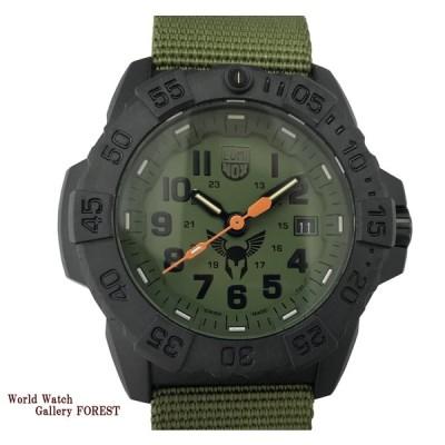 ルミノックス 3500 1GBq H 3 LX 200 LUMINOX 中古 クオーツ メンズ腕時計 カーボン ナイロン AAランク