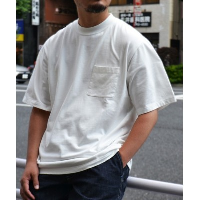 tシャツ Tシャツ 【WILD LIFE TAILOR】SUVINコットン ポケットT