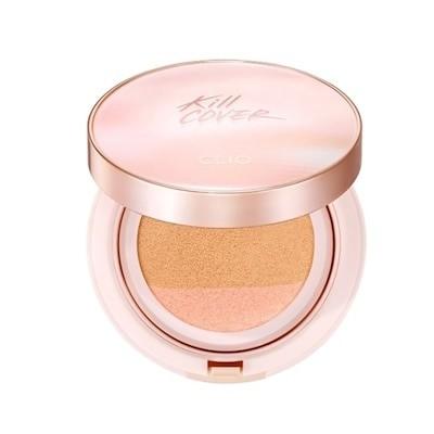 [クリオ/CLIO]キルカバーピンクグロークリームクッション本品+リフィル (17gx2) / [CLIO] Kill Cover Pink Glow Cream Cushion (韓国化粧品)