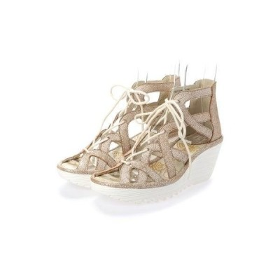 ヨーロッパコンフォートシューズ EU Comfort Shoes FLYLONDON サンダル(500.719) (グレー)
