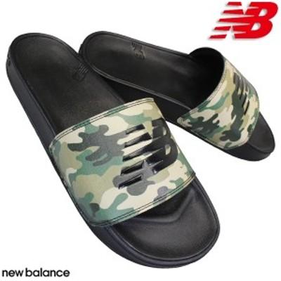 ニューバランス SMF200 CP ブラックカモ メンズ レディース シャワーサンダル ビーチサンダル 屋内シューズ 履きやすい靴