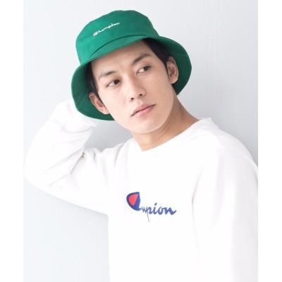 LB/S / 【CHAMPION/チャンピオン】スクリプトバケットハット ブランドロゴ 刺繍 MEN 帽子 > ハット