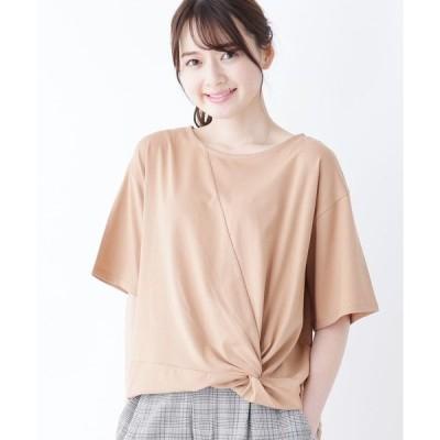 tシャツ Tシャツ 【M-LL】スーピマコットンクルーネックカットソー