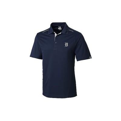 メンズ ファッションアスレチック ウェアCutter  Buck Foss ゴルフ Polo Detroit Tigers - ネイビー