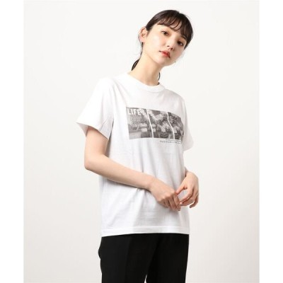 tシャツ Tシャツ 【Mylanka】LIFE MAGAZINE×Mylanka コラボフォトTシャツ