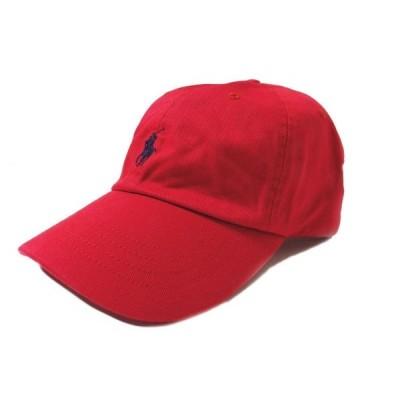 Polo RalphLauren ポロ ラルフローレン  PONNY CAP  RED