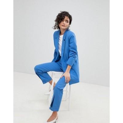 ゲタス レディース カジュアルパンツ ボトムス Gestuz Tailored Pants Nebulas blue