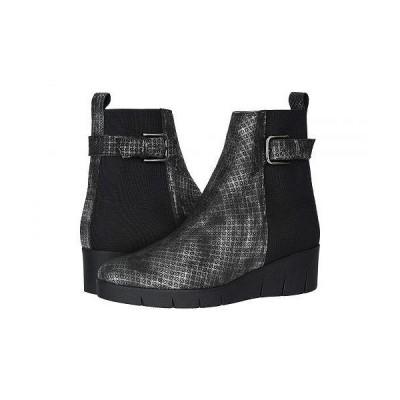 Amalfi by Rangoni レディース 女性用 シューズ 靴 ブーツ アンクルブーツ ショート Gianmaria - Black Spazio