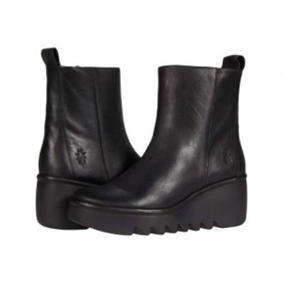 FLY LONDON フライロンドン レディース 女性用 シューズ 靴 ブーツ アンクル ショートブーツ BALE250FLY Black Verona【送料無料】